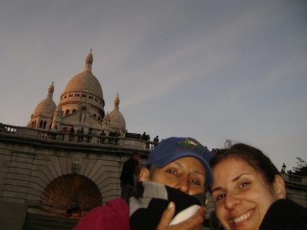 Mamá y yo en Sacre Cour. París 2008