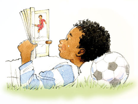 boy-and-football-reading